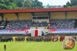 Dentuman Meriam warnai peringatan HUT RI di Papua