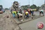 DPU Temanggung Bongkar Jalan Beton di Bawah Spesifikasi