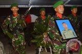 Jenasah Praka Wahyudi dimakamkan di kampung halaman