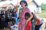Istri Menhan sosialisasi OASE-KK di Merauke