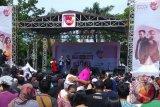 Ridho Rhoma hibur pengunjung CFD Palembang