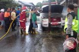 Beruntung! Mobil Ambulan RSUD Muara Teweh Nyaris Terbakar Habis