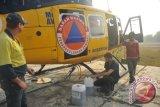 Danlanud Tegaskan Bucket Pemadam Kebakaran tidak Jatuh tapi Sengaja Dilepas