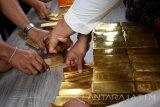 Polisi tangkap tiga penjual emas palsu di Sumbar