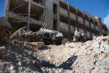 Pemboman Gencar Gerilyawan Akibatkan 40 Orang Tewas di Aleppo, Suriah