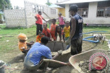 Lemak Papua bangun 13 sumur untuk warga Holtekamp