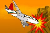 Pesawat latih militer Aljazair jatuh tewaskan 2 pilot