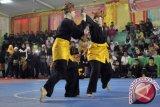Pelajar Malaysia belajar pencak silat Minangkabau di Pariaman