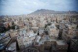 Rumah-rumah di Kota Tua Sana'a Yaman ambruk diterjang hujan deras