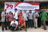 Antara Lampung Rayakan HUT ke Pantai Mutun
