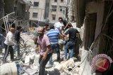 Kebun mawar di Aleppo berubah jadi pemakaman buat orang tercinta