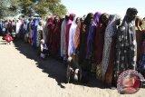 Berebut makanan dan pakaian, 23 orang tewas terinjak-injak
