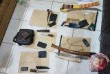 Lima Lelaki Bersenjata Tajam Diamankan Polisi Bartim, Kenapa?