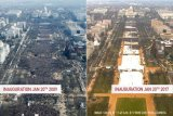 Banyak Mana Antusiasme Rakyat AS Sambut Obama atau Donald Trump?