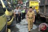 Pemprov Kalteng Mulai Tertibkan Truk Pelat non-KH