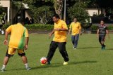 Wartawan-Forkompimda Kota Magelang Rayakan HPN lewat Sepak Bola