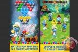 Asik! Game Smurfs Bubble Story Untuk iOS dan Android