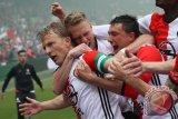 Veltman cetak dua gol saat Belanda tundukkan Pantai Gading