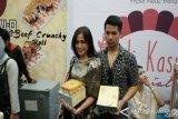 Jessica Iskandar Jajal Bisnis Roti Kasur di Semarang