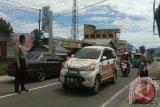 Traffic Flow in Manggopoh-West Pasaman Road Begins To Increase
