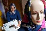 Berkah Ramadan, Pengrajin Jilbab Ini Kebanjiran Pesanan