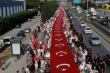 Ratusan Ribu Massa Oposisi Turki Unjuk Rasa Menentang Erdogan