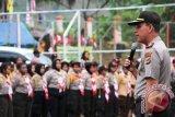 Kapolda minta pramuka Saka Bhayangkara hindari narkoba