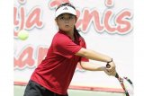 Petenis Indonesia ini tersingkir di perempat final  Wimbledon junior