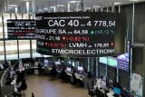 Saham Prancis terus melonjak, indeks CAC 40 melambung 3,36 persen