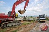 Ada Kegiatan Penurunan Bukit, Jalan Agatis Ditutup 3 Bulan