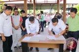 Pemkab dan KPU Minahasa Tenggara Sepakati Perubahan NPHD