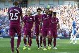 Kalahkan Everton, Manchester City selangkah lagi juara Liga Primer