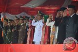 Wakil Bupati Drs.Hi.Roni Imran  bersama jajaran Muspida Kabupaten Gorontalo Utara