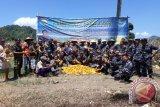 Wadan Lantamal Manado panen jagung di Sangkub