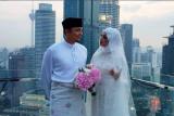 Media Malaysia kabarkan artis Laudya Cynthia Bella cerai dari Engku Emran
