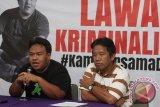 Polisi jadikan Dandhy tersangka dugaan ujaran kebencian lewat cuitan twitter memprovokasi isu Papua