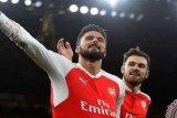 Giroud Cetak Gol ke-100nya Untuk Arsenal
