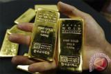 Emas turun tajam tertekan penguatan dolar AS