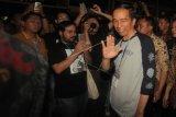 'Saya Kurus' tapi tidak pernah takut apapun, kata Jokowi