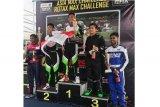 Agi Borneo Asal Barut Raih Runner-Up Gokart Asia
