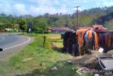 Bus Rombongan Perangkat Desa Asal Purworejo Kecelakaan di Banyumas