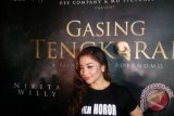 Nikita Willy curhat pertama kali main film horor