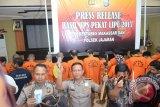 42 Penjahat Terjaring Operasi Pekat Lipu Makassar