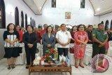 Perayaan HUT ke-66 GSJA Solideo Tonsealama, Bupati JWS Adakan Pertemuan Bersama Pendeta