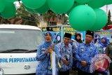Bupati Lampung Timur Luncurkan Bentor Pustaka Keliling