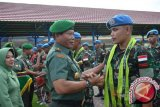 Pangdam Pattimura Lepas Satgas Luar Negeri