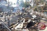 Rumah Betang, situs budaya Dayak  berusia 151 tahun terbakar