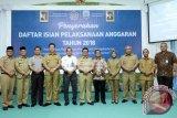 Gubernur Serahkan DIPA dan Alokasi TKDD 2018