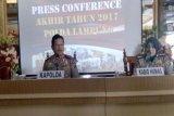 Tindak pidana konvensional di Lampung menurun