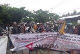 Masyarakat Tawaeli demo, lalulintas Trans Sulawesi macet total